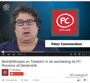 PC Reclame - Videografie en telepitch