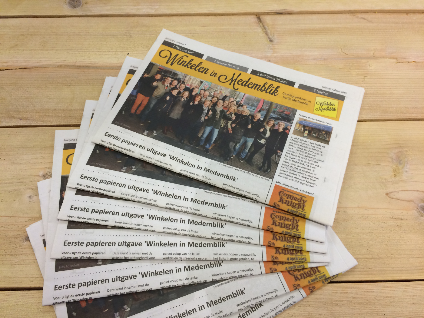 PC Reclame - Winkelen in Medemblik krant-1