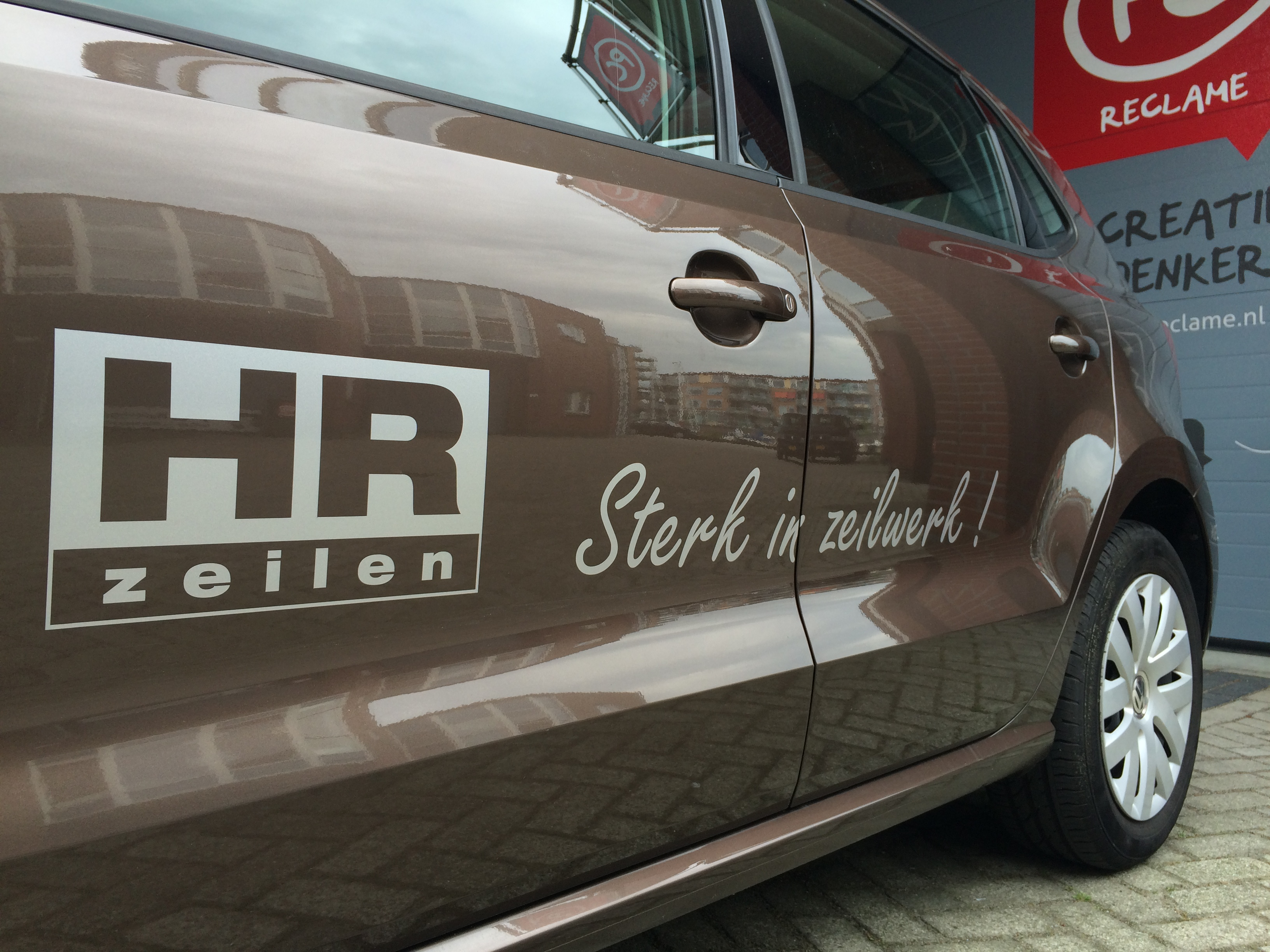 HR Zeilen autobelettering - belettering met stijl