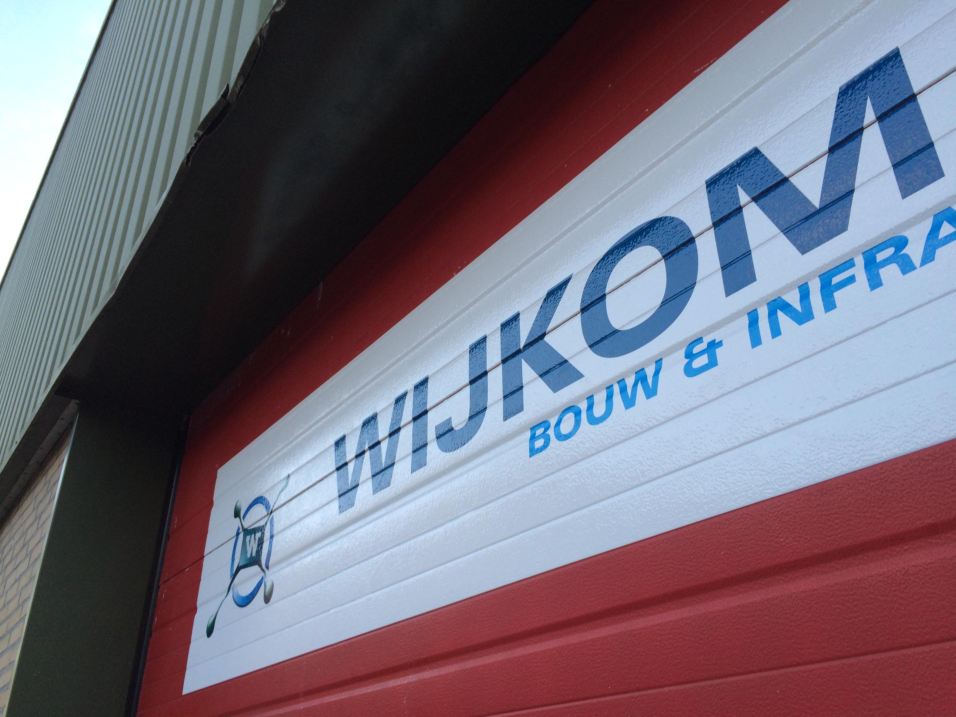 Wijkom Bouw en Infra - Overhead deur