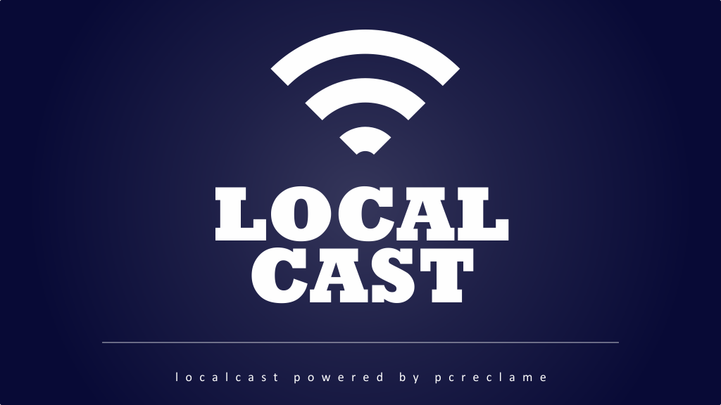 Local cast, de narrowcasting solution
