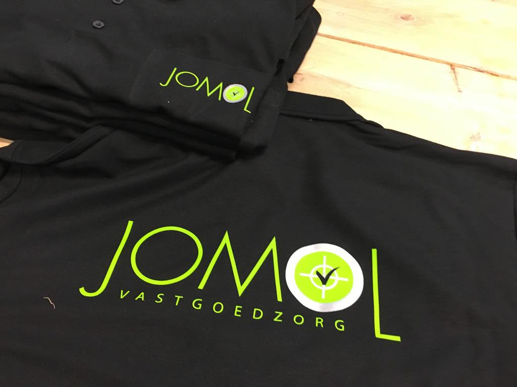 PC Reclame - bedrukken van kleding Jomol