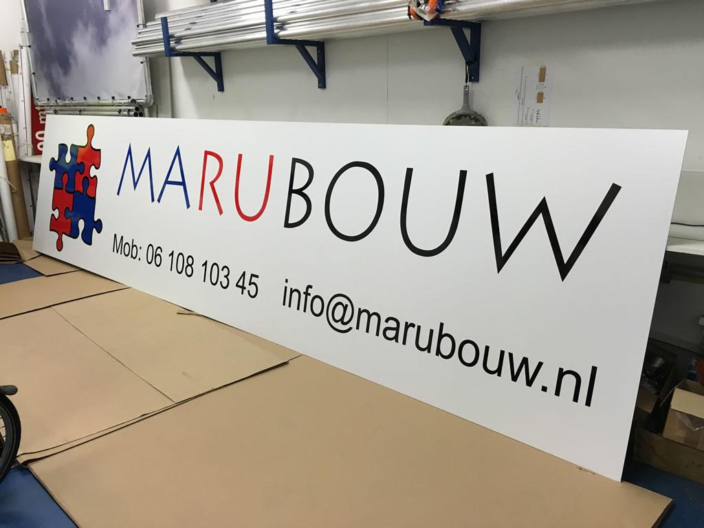 PC Reclame - Marubouw gevelbord