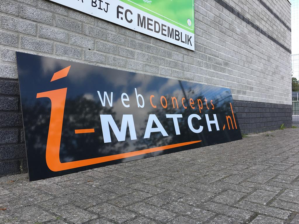 FC Medemblik sponsorbord - iMACTH