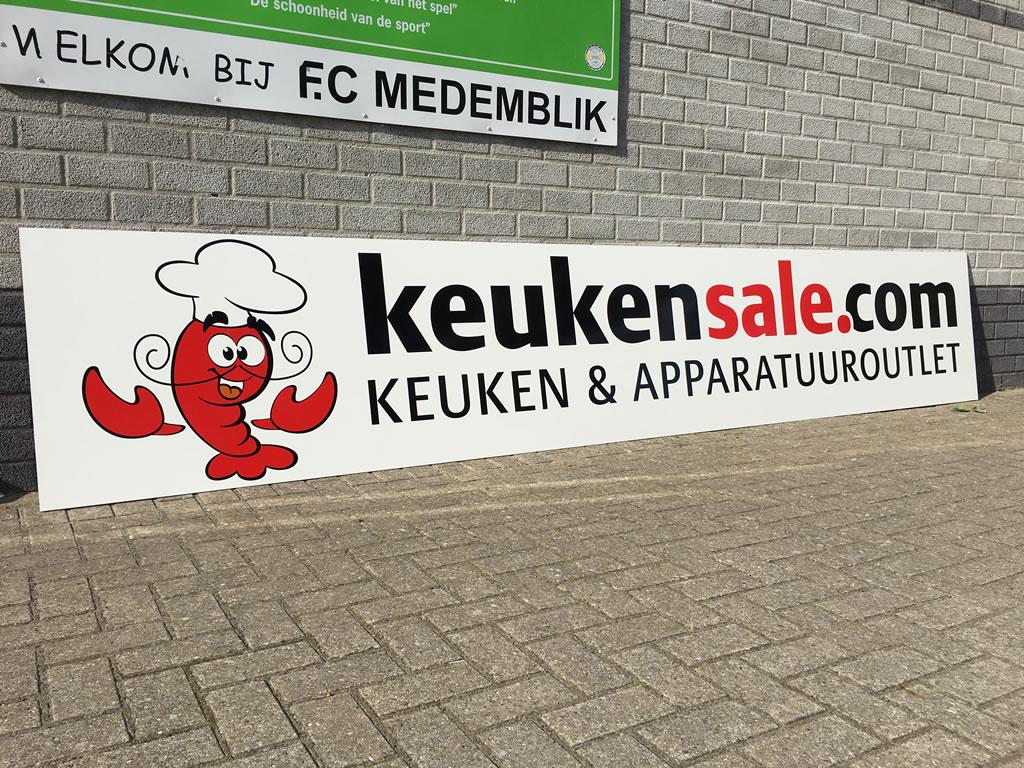 FC Medemblik sponsorbord - Keukensale