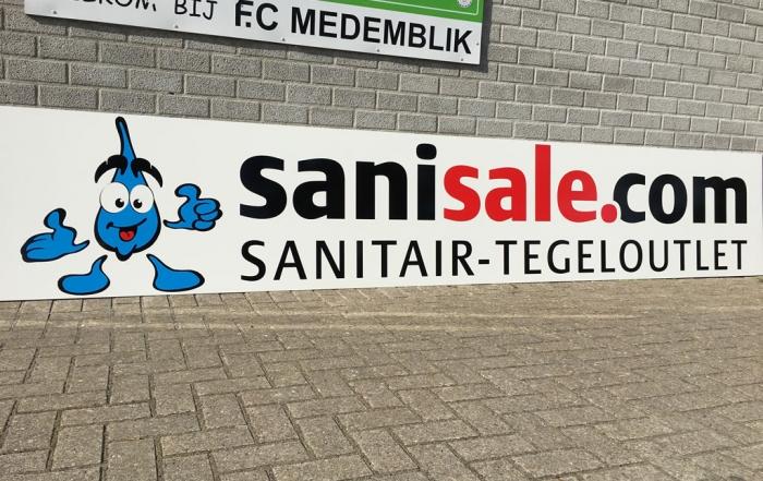 Sanisale - sponsor van FC Medemblik