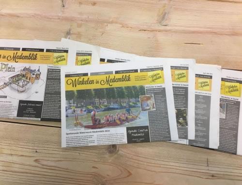 Winkelen in Medemblik krant – augustus/september