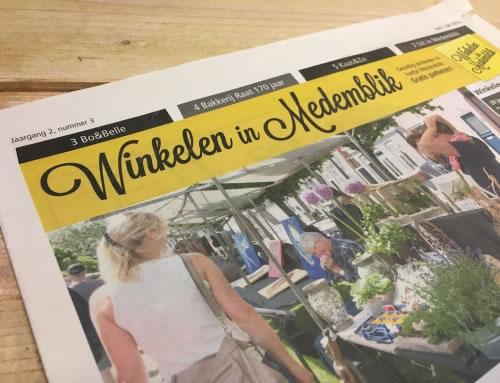 Juni-juli editie 2016 winkelen in Medemblik krant