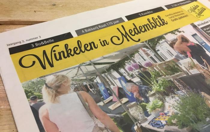 PC Reclame - Winkelen in Medemblik krant juni - juli