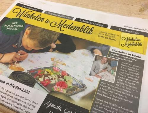 Winkelen in Medemblik krant – oktober/november