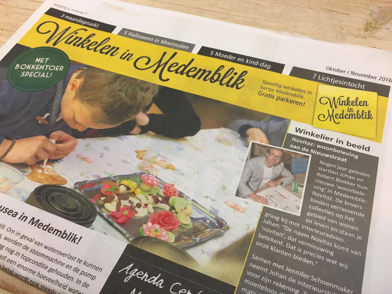 PC Reclame - Winkelen in Medemblik krant oktober -november
