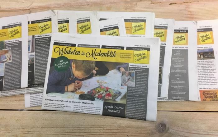 PC Reclame - Winkelen in Medemblik krant oktober - november