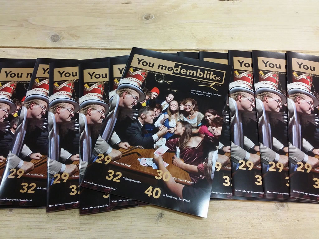 YouMedemblik magazine november-december 2016
