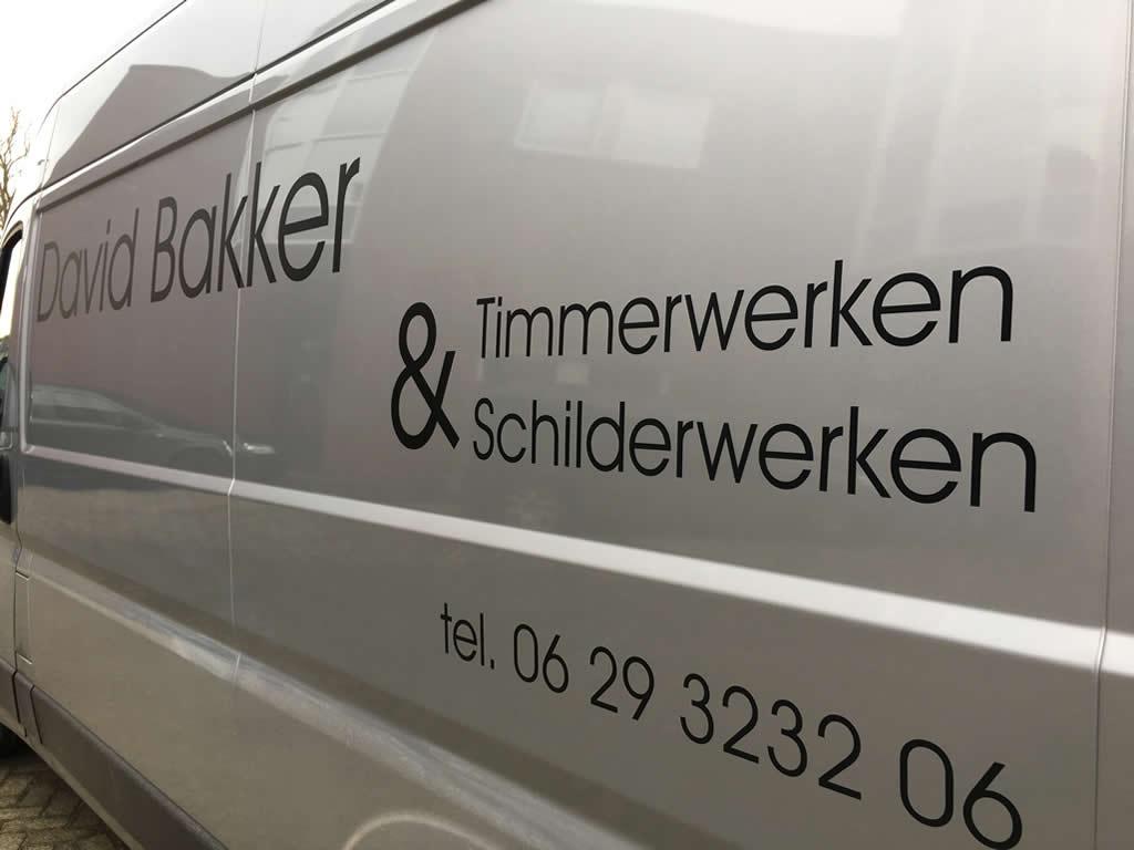 David Bakker - Timmer- & Schilderwerken