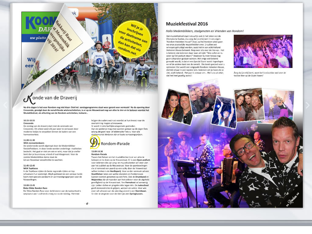 PC Reclame - Pageflip, bladeren door brochure of magazine