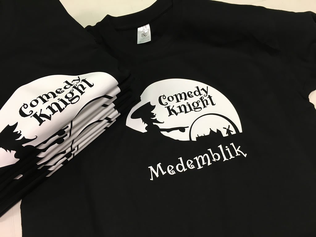 PC Reclame - T-shirts Comedy Knight