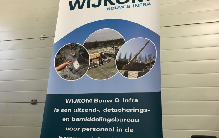 PC Reclame - Roll-up banner