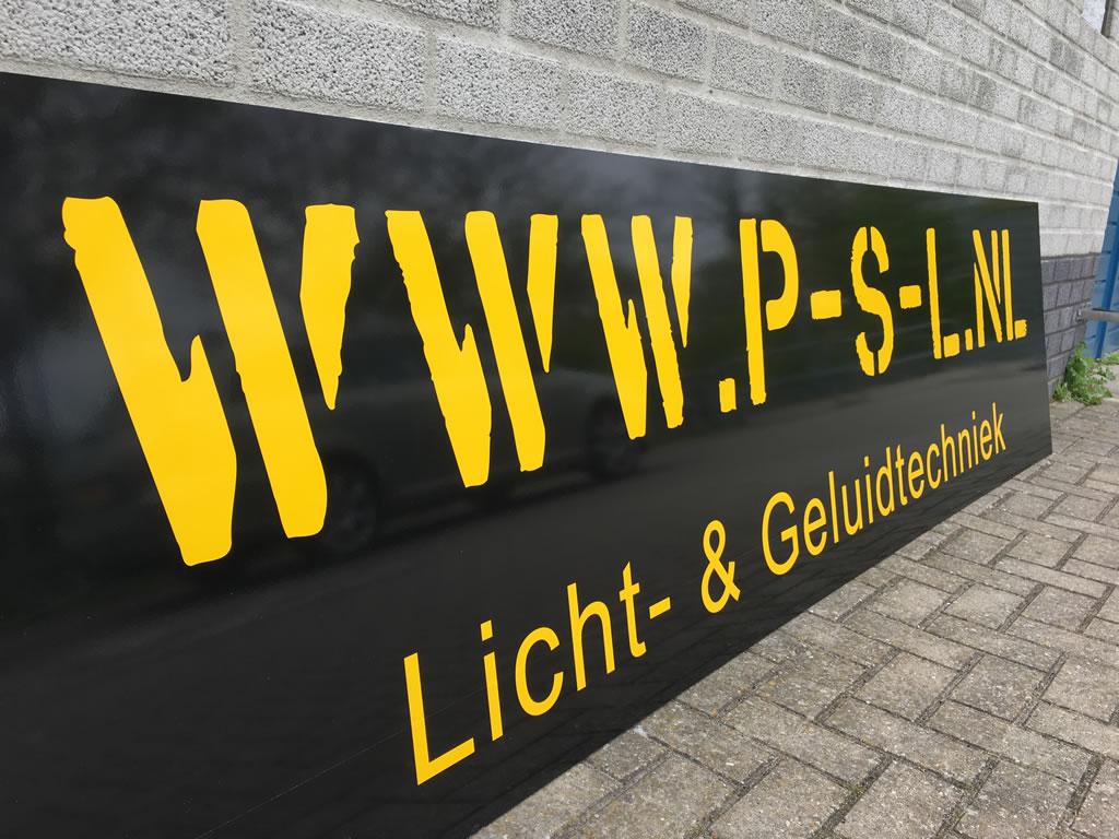 PC Reclame - Sponsorbord FC Medemblik - P-S-L