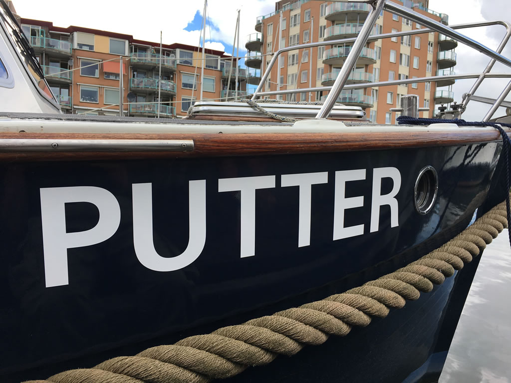 PC Reclame - jachtbelettering - Putter