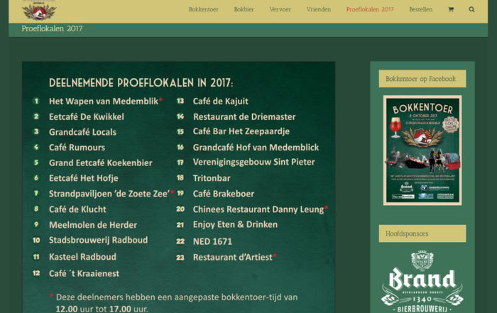 PC Reclame - Bokkentoer website