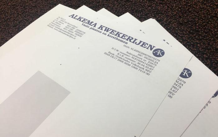 Alkema Kwekerijen - briefpapier