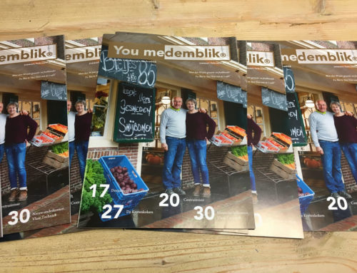 Januari-Februari 2018 editie van YouMedemblik magazine