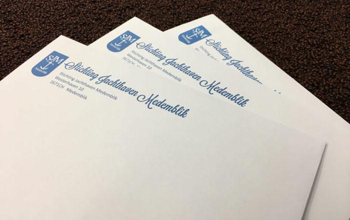 Stichting Jachthaven Medemblik - enveloppen
