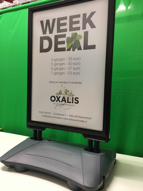 Oxalis - Poster in Swingbord