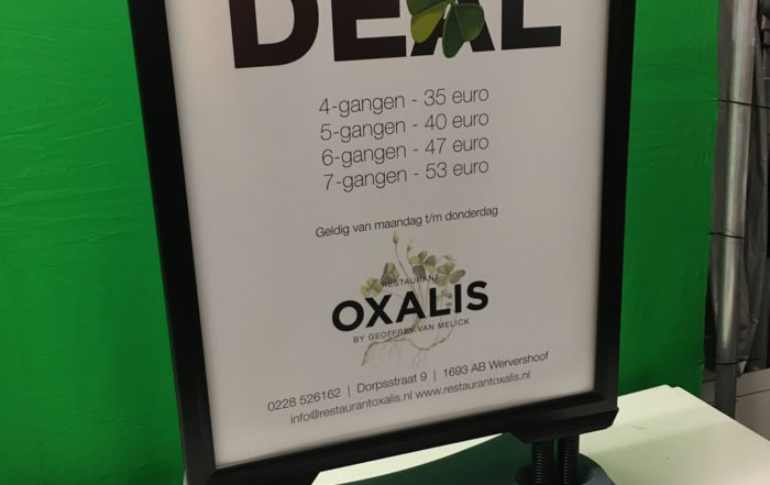Oxalis - Poster in Swingbord