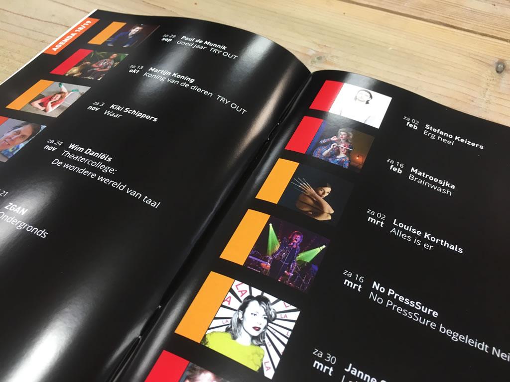 BON-theater programmaboekje - 2018/2019