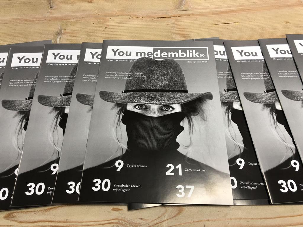 YouMedemblik magazine - 2018 nr. 4 Juli-Augustus 2018 editie