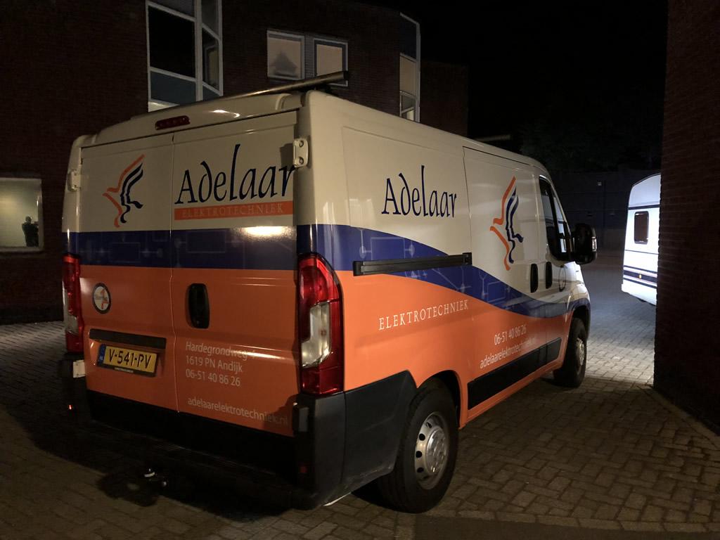 Adelaar Electrotechniek - Autobelettering