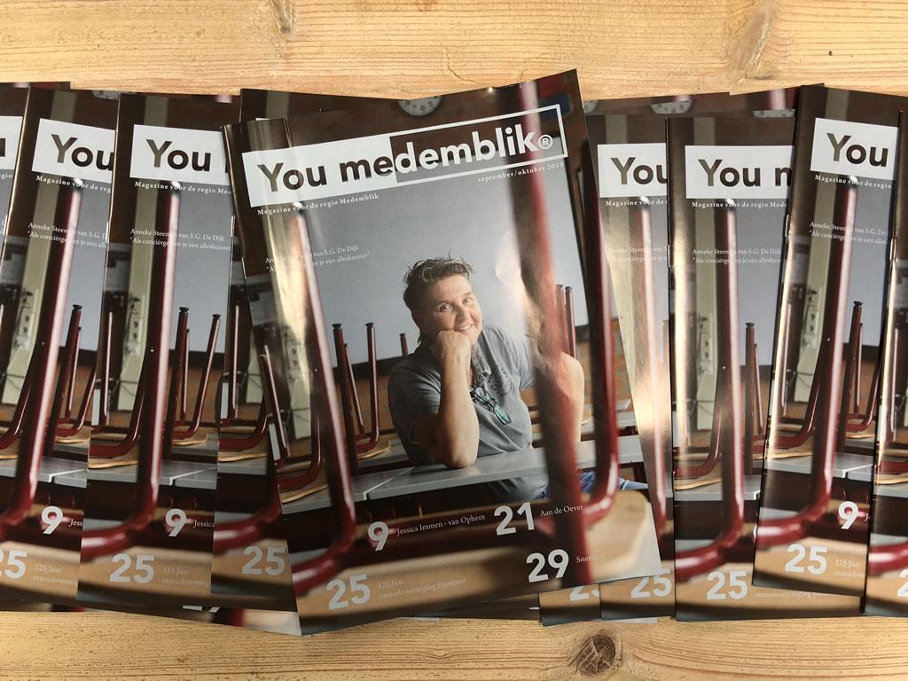 YouMedemblik magazine - september - oktober 2018 editie (nr. 5)